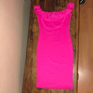 PINK VICTORIA'S SECRET Hot Pink Dress
